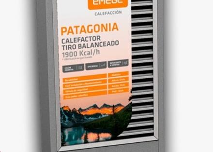 Calefactor Patagonia Emegé 1900 KCAL