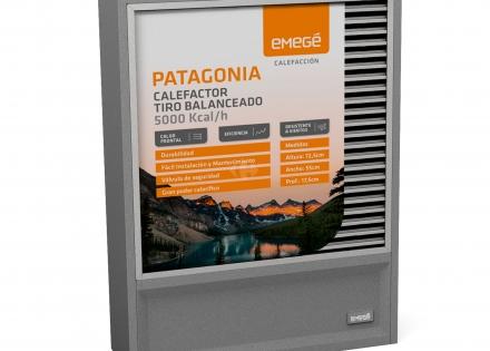 Calefactor Patagonia Emegé 5000 KCAL
